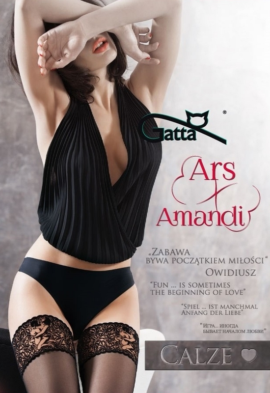 Erotické Punčochy Gatta Ars Amandi Calze